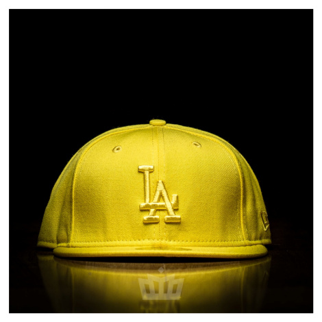 New Era 59Fifty Los Angeles Dodgers Full Cap Yellow