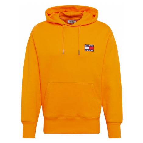 Tommy Jeans Bluzka sportowa 'TJM TOMMY BADGE HOODIE' pomarańczowy Tommy Hilfiger