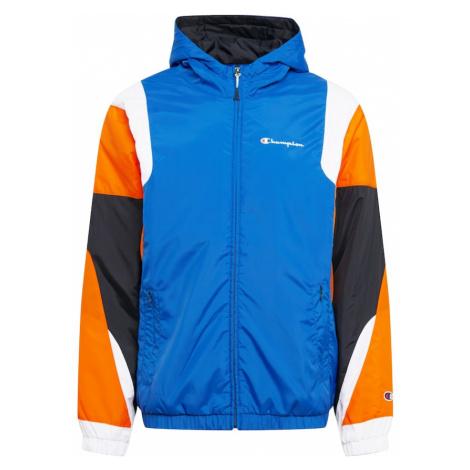 Champion Authentic Athletic Apparel Kurtka przejściowa ciemny niebieski / pomarańczowy / biały /