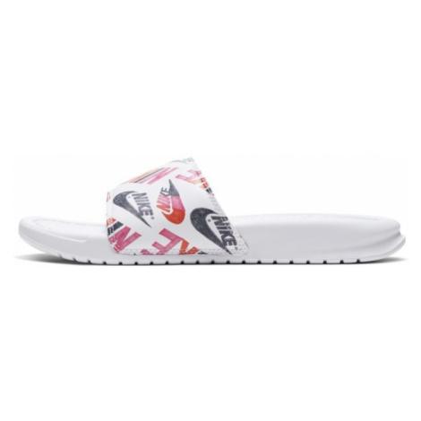 Klapki damskie Nike Benassi JDI - Biel