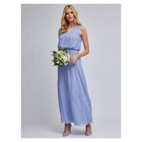 Niebieska sukienka maxi Dorothy Perkins