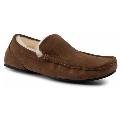 Kapcie BOSS - Relax 50423231 10223624 01 Medium Brown 210 Hugo Boss