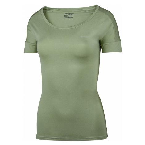 Zielone damskie termoaktywne koszulki