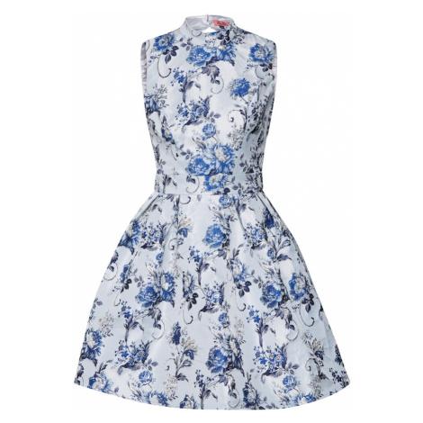 Chi Chi London Sukienka koktajlowa 'Chi Chi Elowen Dress' mieszane kolory / niebieski