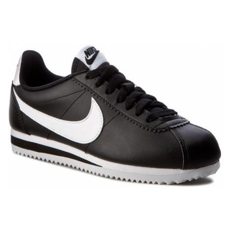 Nike Buty Classic Cortez Leather 807471 010 Czarny
