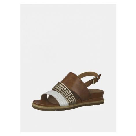 Tamaris Sandały Brązowy
