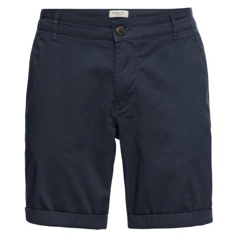 SELECTED HOMME Spodnie ciemny niebieski