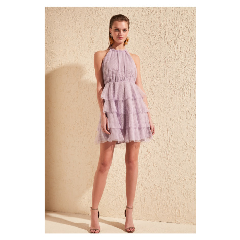 Women's dress Trendyol Tulle Detailed