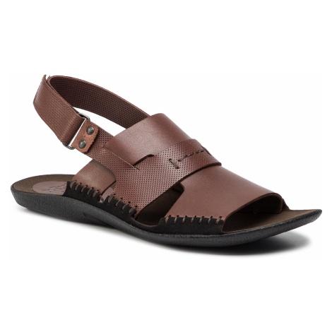 Sandały NIK - 06-0347-01-7-02-03 Brązowy