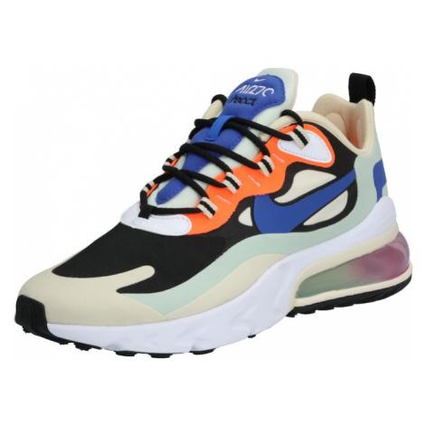 Nike Sportswear Trampki niskie 'Air Max 270 React' miętowy / biały / czarny / pomarańczowy