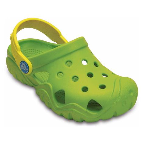buty dziecięce Crocs Swiftwater Clog - Volt Green/Lemon