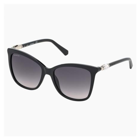 Okulary przeciwsłoneczne Swarovski, SK0227-01B, czarne