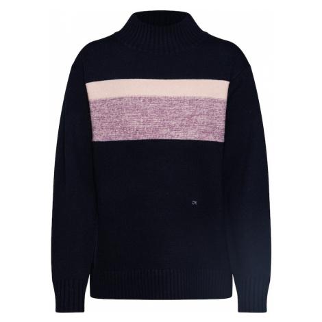 Calvin Klein Sweter jasnofioletowy / czarny
