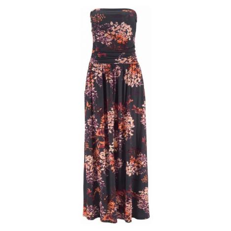 LASCANA Sukienka plażowa mieszane kolory / czarny