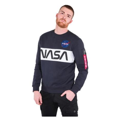 Bluza męska Alpha Industries NASA Inlay Sweater 178308 07