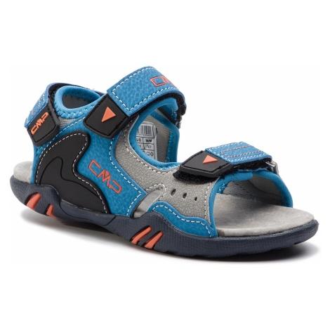 Sandały CMP - Kids Alphard Hiking Sandal 39Q9614 Cyano/Orange 25MC