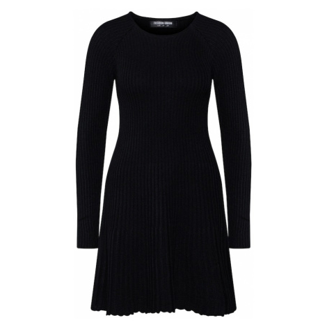 Fashion Union Sukienka 'PEACH' czarny