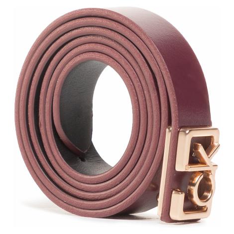 Pasek Damski CALVIN KLEIN - Plaque Skinny Belt 20mm K60K607325 GDU