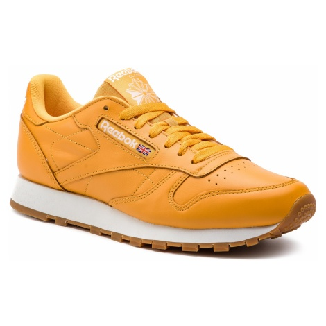 Buty Reebok - Classic Leather Mu DV3841 Trek Gold/White