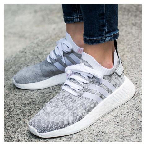 """Buty adidas NMD R2 Primeknit Women """"Footwear White/Core Black"""" (BY9520)"""