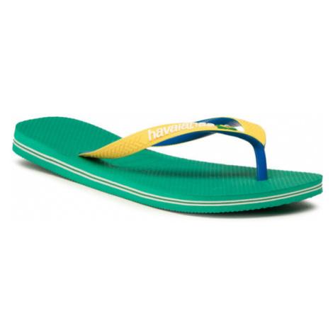 Havaianas Japonki Brasil Mix Fc 41232062078 Żółty