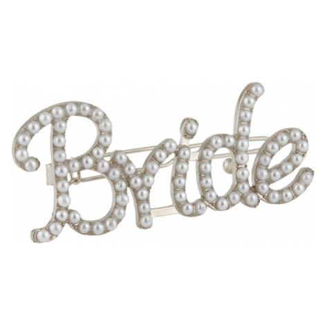 PIECES Biżuteria do włosów 'BRIDE' srebrny