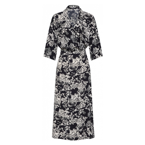 VERO MODA Sukienka koszulowa 'PROSECCA' czarny / biały