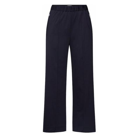 Calvin Klein Spodnie w kant 'PUNTO MILANO TRACKSUIT PANT' czarny