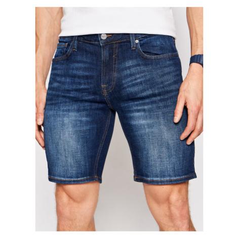 Guess Szorty jeansowe M1GD03 D4B74 Granatowy Regular Fit