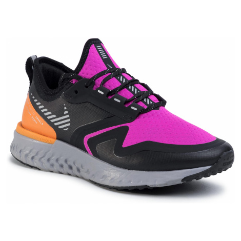Buty NIKE - Odyssey React 2 Shield BQ1672 600 Fire Pink/Metalic Silver
