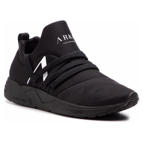 Sneakersy ARKK COPENHAGEN - Raven Mesh S-E15 IL1403-0099-W All Black/White