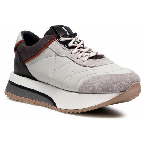 Sneakersy BRONX - 66361-AC Ice Grey/Rust/Asphalt 3414