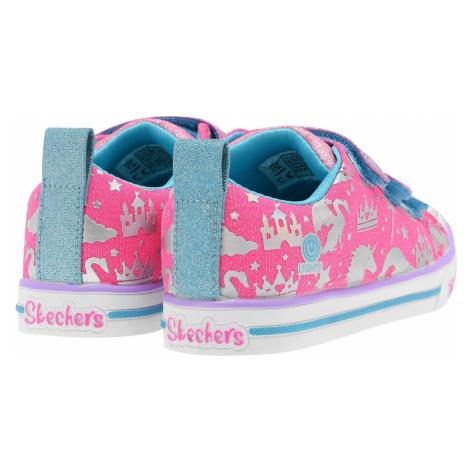 Skechers Toes Sparkle Lite Girls Trainers