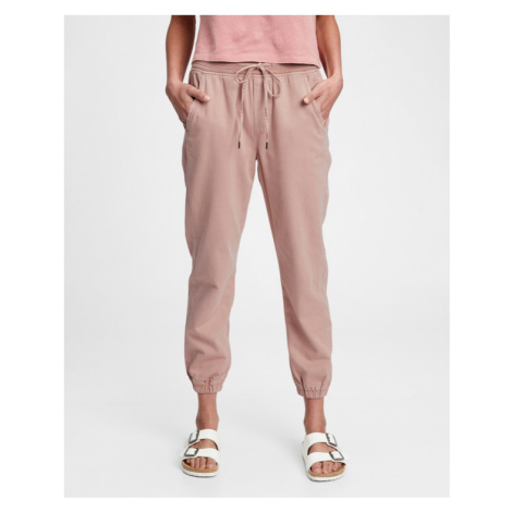 GAP Spodnie dresowe Różowy