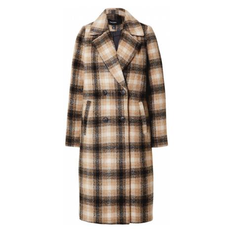 VERO MODA Płaszcz przejściowy 'Hailey' czarny / beżowy / brązowy