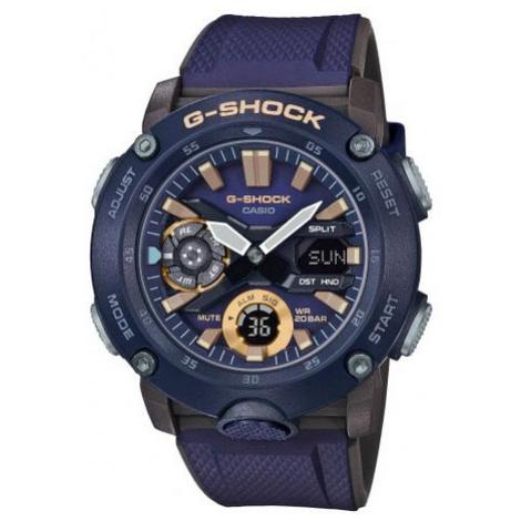 G-Shock Zegarek GA-2000-2AER Granatowy Casio