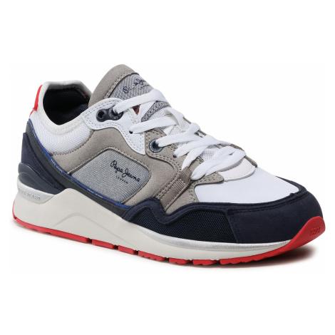Sneakersy PEPE JEANS - X20 Tech PMS30735 Chambray 564