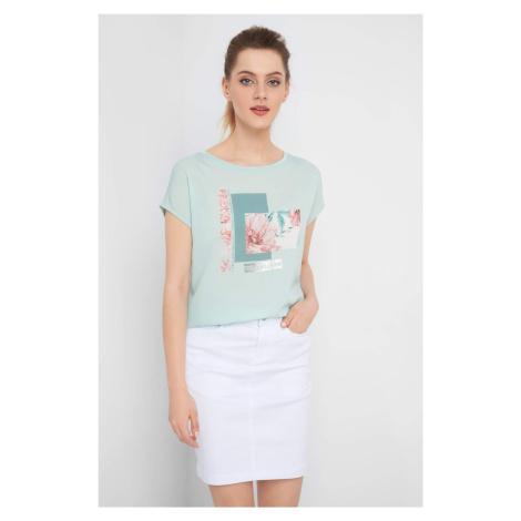Koszulka z nadrukiem i napisem Orsay