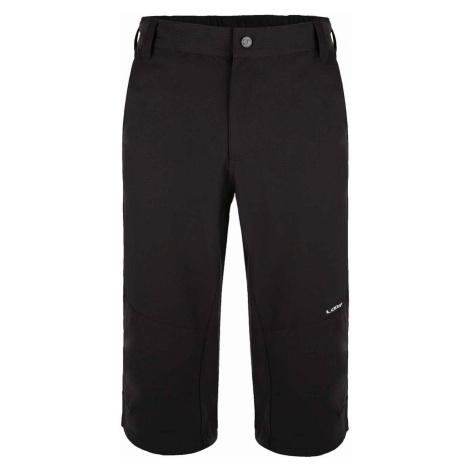 UNARO męskie spodnie 3/4 czarne LOAP