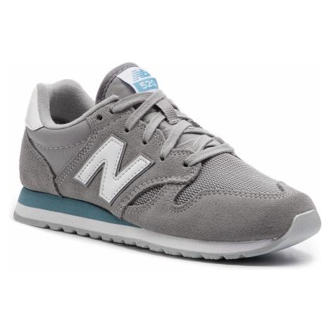 Sneakersy NEW BALANCE - U520GH Szary