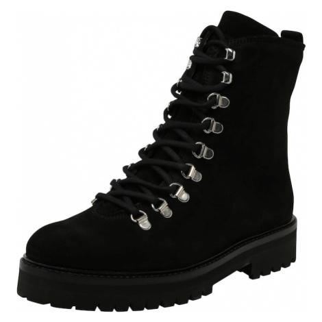 ROYAL REPUBLIQ Kozaki sznurowane 'Ave Hiker Oxford Combat Boot' czarny