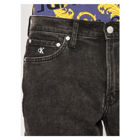 Calvin Klein Jeans Szorty jeansowe J30J314638 Czarny Slim Fit