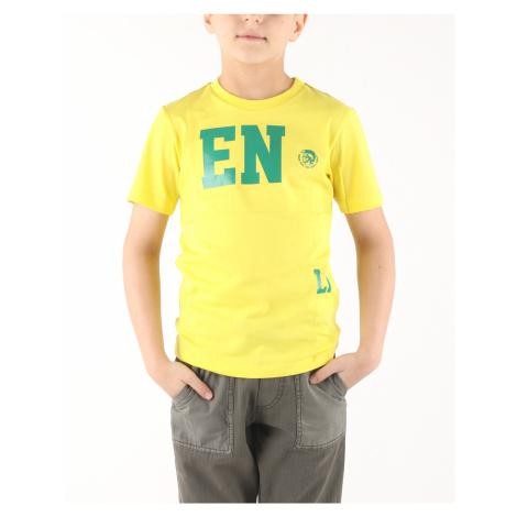 Diesel Tofri Koszulka dziecięce Żółty