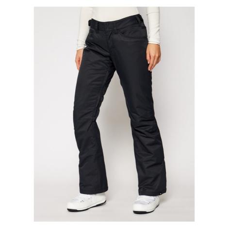 Roxy Spodnie snowboardowe Backyard ERJTP03127 Czarny Tailored Fit
