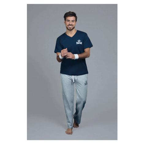 Granatowa bluzka od piżamy Marine