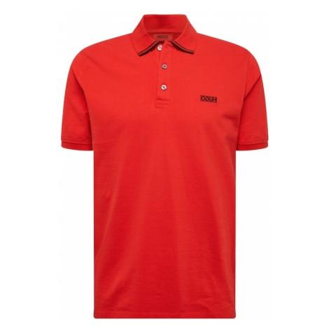 HUGO Koszulka 'Dyler' czerwony Hugo Boss