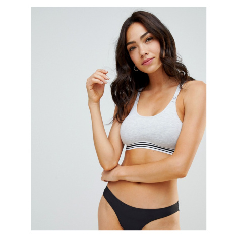 ASOS DESIGN Maternity nursing supersoft jersey bra with removable pad