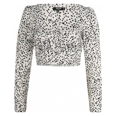 Missguided (Petite) Bluzka biały / czarny