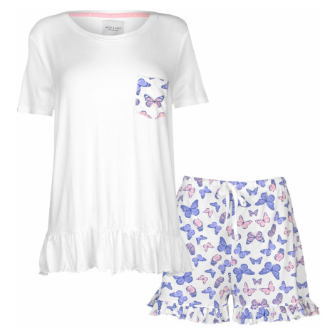 Rock and Rags Womens Butterfly Shorts Pyjama Set
