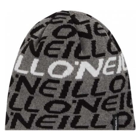 O'Neill BB BOYS BANNER BEANIE szary 0 - Czapka zimowa chłopięca